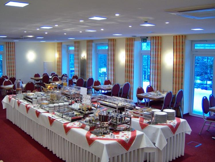 Frühstücken im Hotel Scholz in Koblenz