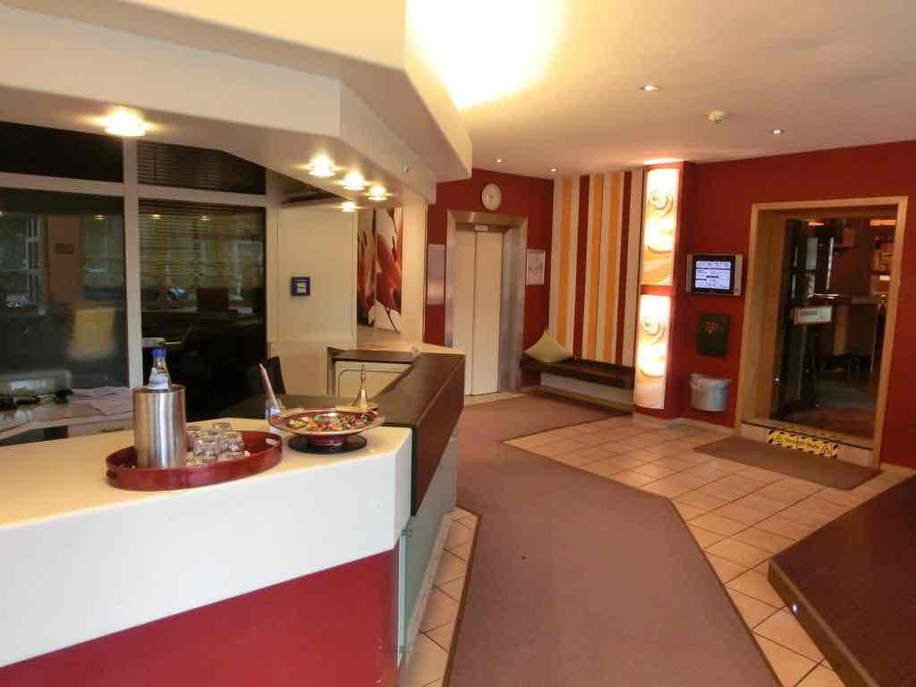 Hotel Koblenz Scholz die Rezeption